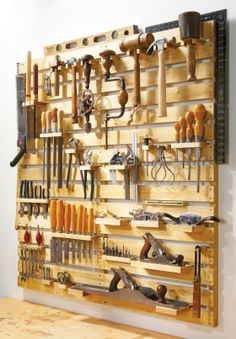 wooden storage rack plans