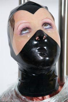 person muzzle on