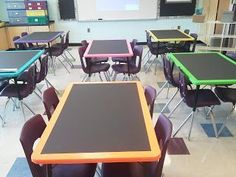 Chalkboard Tables --