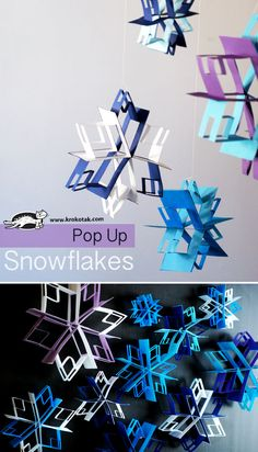 Pop Up snowflake cra