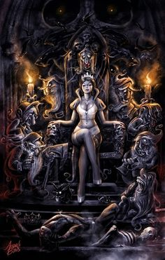 dark disturbing art
