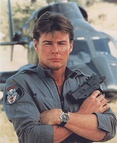 Jean Bruce Scott as Caitlin O'Shannessy | AIRWOLF CREW | Pinterest | Jeans and L'wren scott