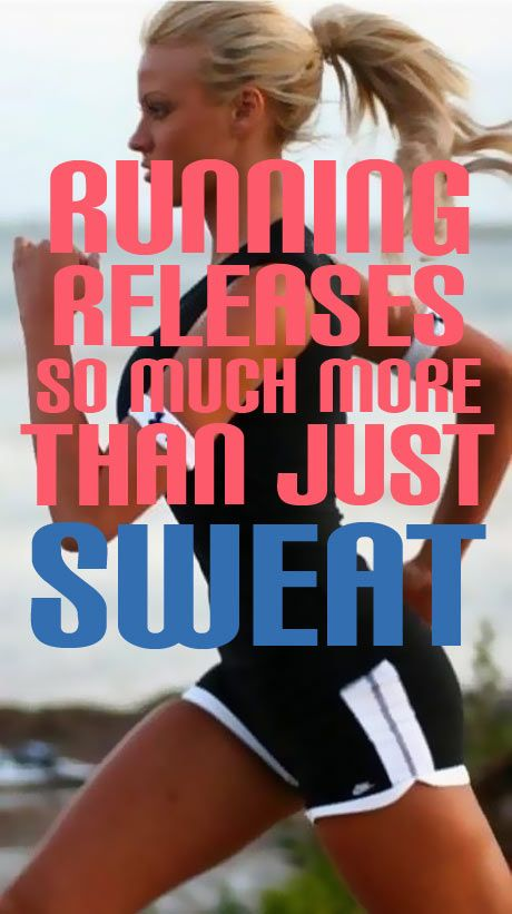Running Releases More Than Just Sweat