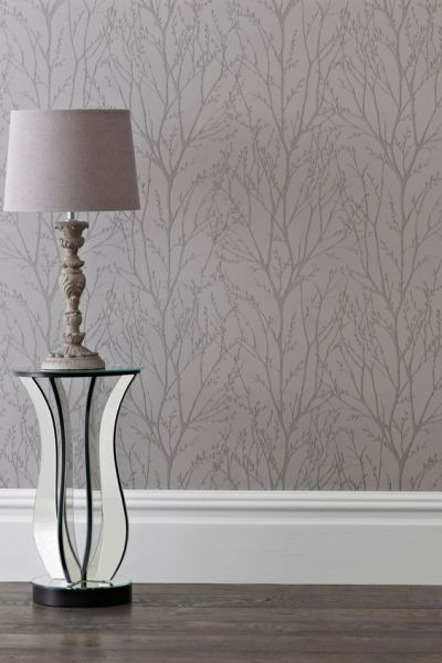 Buy Pewter Twigs Wallpaper from the Next UK online shop | Home | Pinterest | Shops, Uk online ...