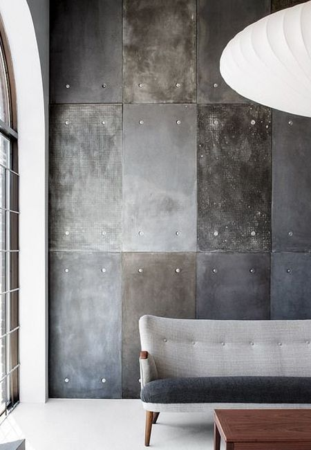 Concreate Feature Wall