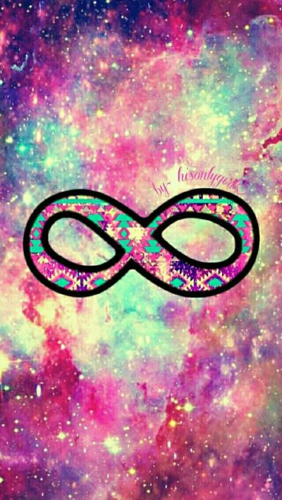 Infinity galaxy wallpaper I created for the app CocoPPa.   Vintage .. klop   Pinterest ...
