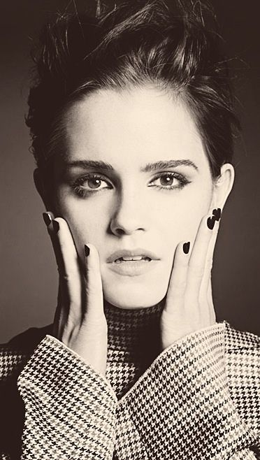 Emma Watson is gorgeous... I'm jealous. And of course, she was Hermione in Harry Potter, but if you didn't already know that, there's something wrong.: