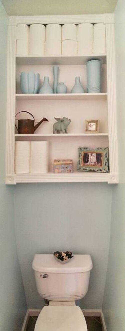Medium Of Small Wall Shelves Bathroom