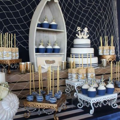 Nautical wedding ide