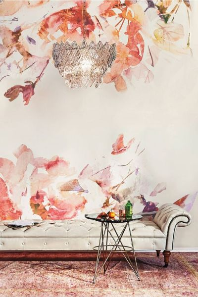 Murals, Anthropologie and Wallpapers on Pinterest