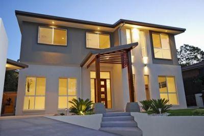 Exterior design, Minimalist architecture and Home exterior design on Pinterest
