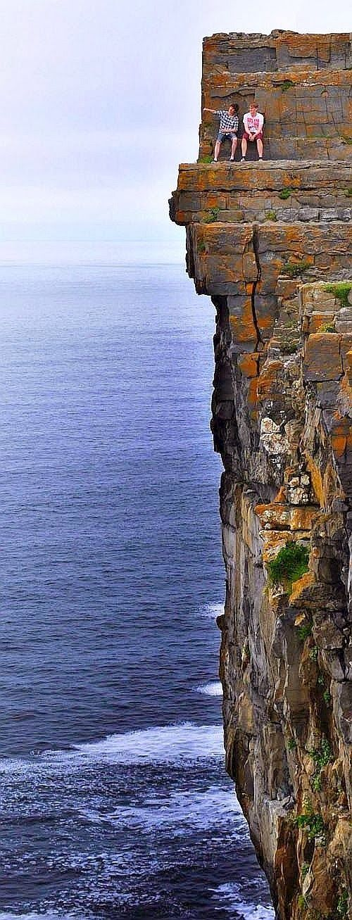 Daredevil Cliffs, Aran Islands, Ireland: