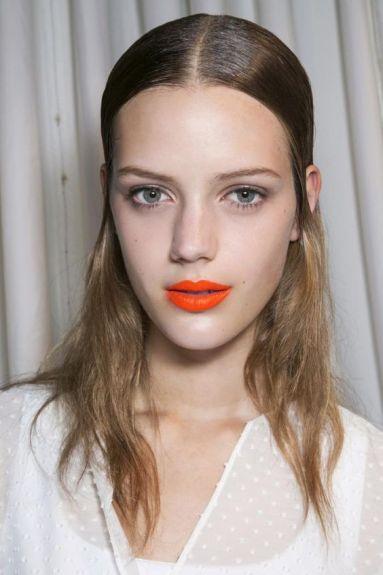 The Absolute Best Long-Lasting Lipsticks - Matte Orange lips, backstage beauty: