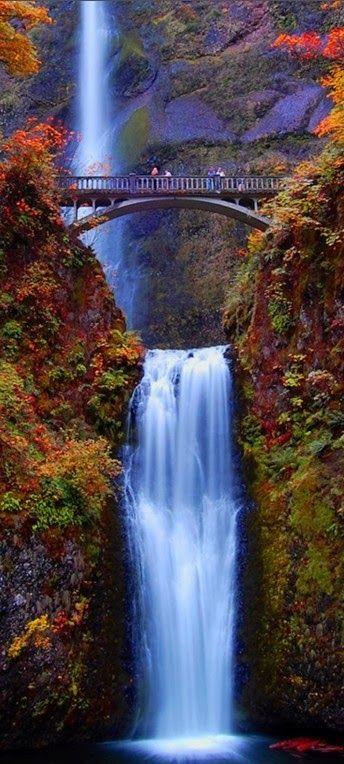Multnomah Falls, Oregon *someone take me here*: