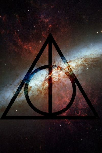 The Elder Wand, the Resurrection Stone and the Invisibility Cloak | iPhone wallpapers ...