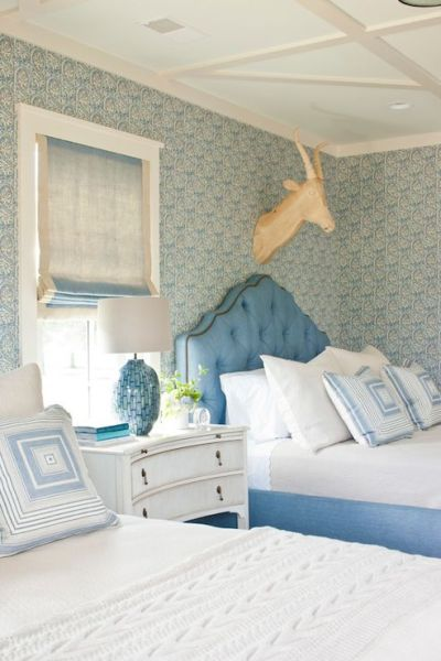 Blue girls rooms, Girl rooms and Southern living on Pinterest