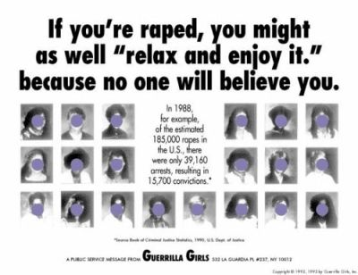 Guerrilla Girls is an influential site that exposes sexism, racism and corruption in politics ...