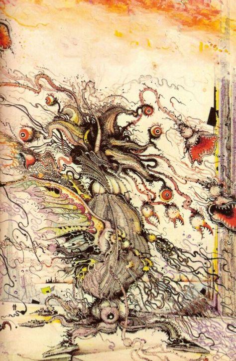 Elder Thing par Ian Miller