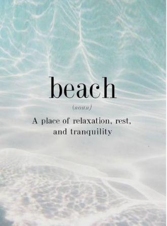definition of beach