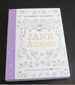 Coloring Book Review – Classic Coloring: Jane Austen | Paulette's Papers: