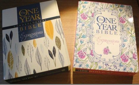 A Tale of Two One Year Bibles: The One Year Bible Expressions and The One Year Chronological Bible Creative Expression | Paulette's Papers: