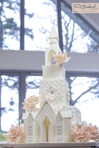 Learn to make this incredible Church Wedding Cake. Watch ...