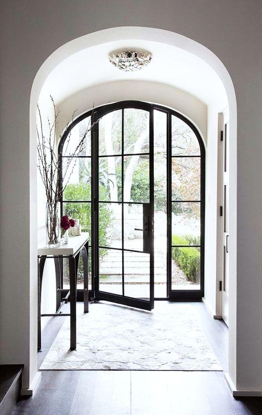 dream house: the front door.: