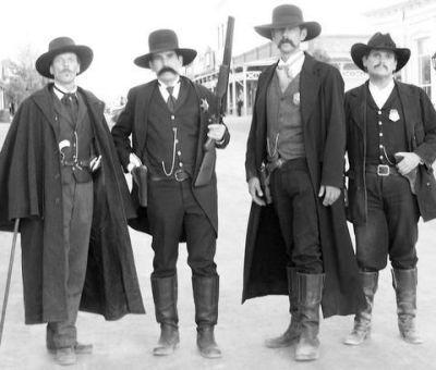 Doc holliday, Wyatt earp and Morgan earp on Pinterest