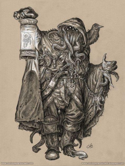 Gray Wanderer by christopherburdett