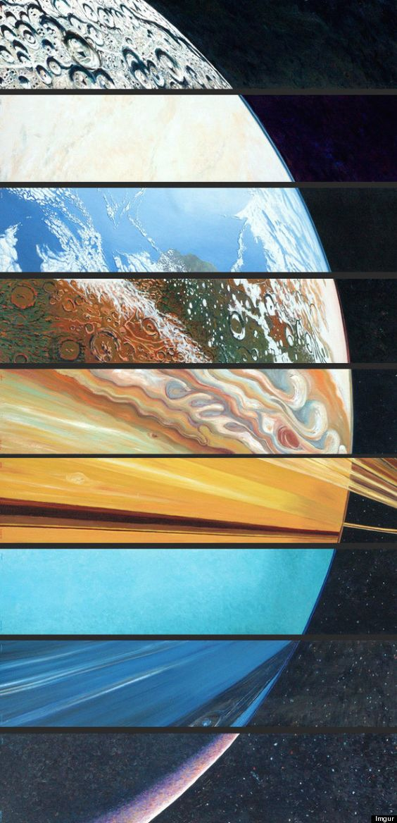 All The Planets, Aligned In One Beautiful Picture