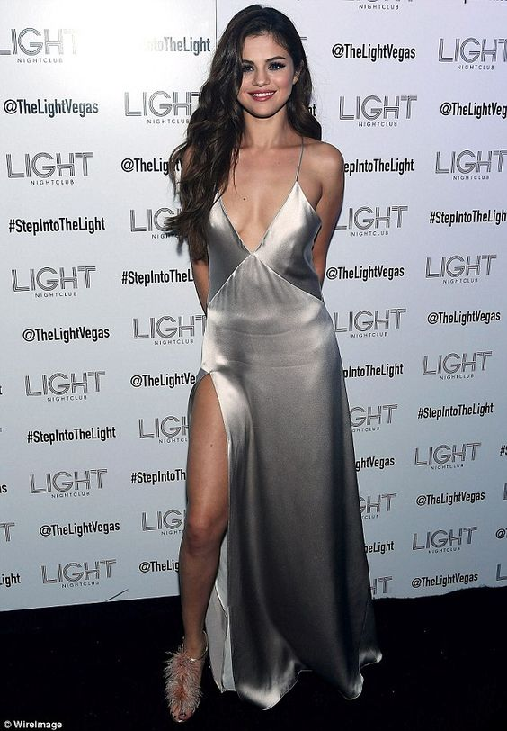 Selena Gomez in Galvan at the after-party for her Revival Tour kick-off in Las Vegas on May 6, 2016: