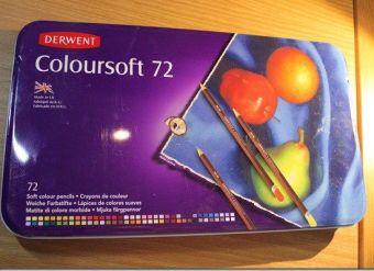 Review: Derwent Colored Pencils, Drawing, Art, Colorsoft, 72-Pack | Paulette's Papers: