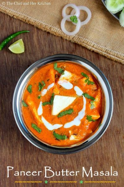 THE CHEF and HER KITCHEN: Paneer Butter Masala Recipe - Restaurant style | The Chef and Her ...