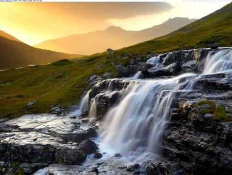 Heljardalsa Waterfall, Near Saksun, Streymoy, Faroe Islands, Denmark- Most surreal places to visit - part 3