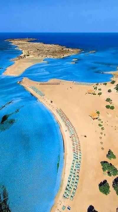 lifeissuchabeach:  Elafonissi Beach, Crete Island, Greece: