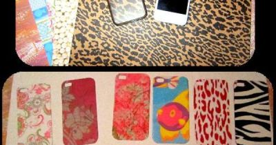 iPhone backgrounds. Clear phone case and cut out craft paper. | My Own Pins | Pinterest | Crafts ...