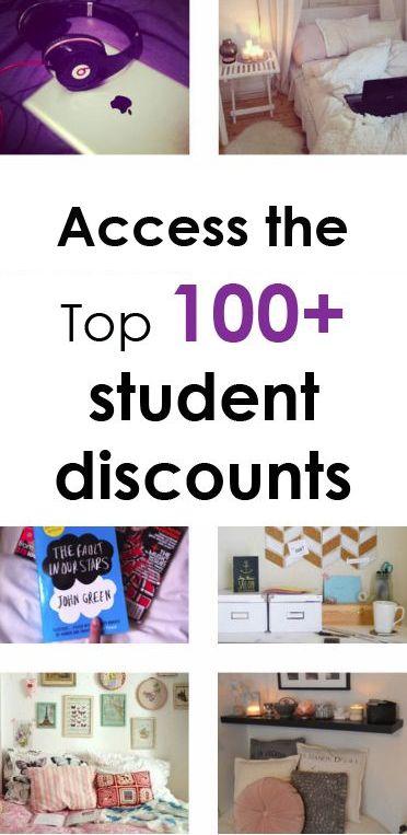 Best 25+ Student discounts ideas on Pinterest   College ...
