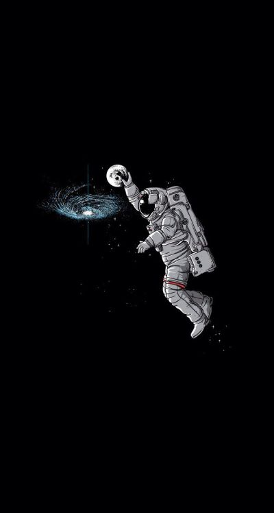 Astronaut dunk - iPhone wallpaper @mobile9 | iPhone 7 ...