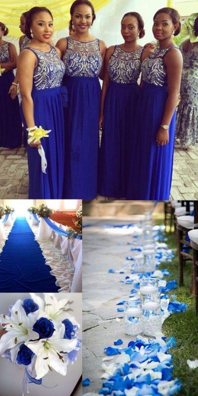 17 Best ideas about Royal Blue Bridesmaids on Pinterest ...
