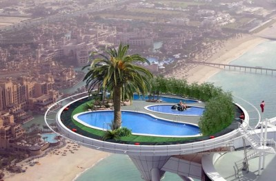 Rooftop Pool In Dubai | scary | Pinterest | Pools, Rooftop pool and Rooftops
