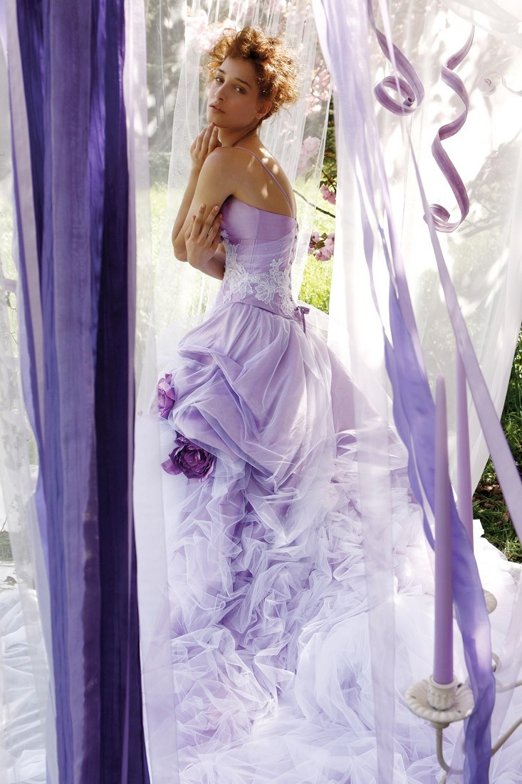 blue lilac wedding lilac wedding dress Lilac and beautiful wedding dress just beautiful to look at even if you re not getting married right now
