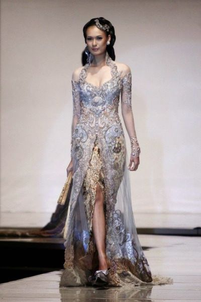 Kebaya Wedding Dress Model Kebaya Modern | Kebaya Kebaya ...