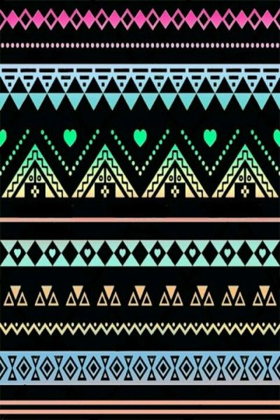 black neons lacey aztec print wallpaper (ok- where else have you seen ANYTHING like this ...