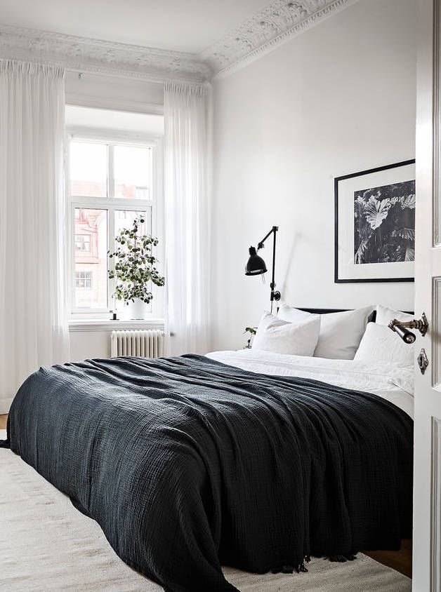 find this pin and more on bedroom white bed black furniture