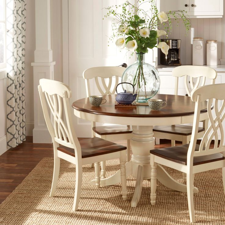 mackenzie country style twotone dining chairs set of 2 by tribecca home tribecca home living in furniture e