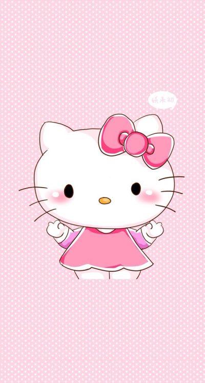 iphone 5 wallpaper cute background free bg hello kitty kawaii pink sanrio | iPhone 5 and 6 ...