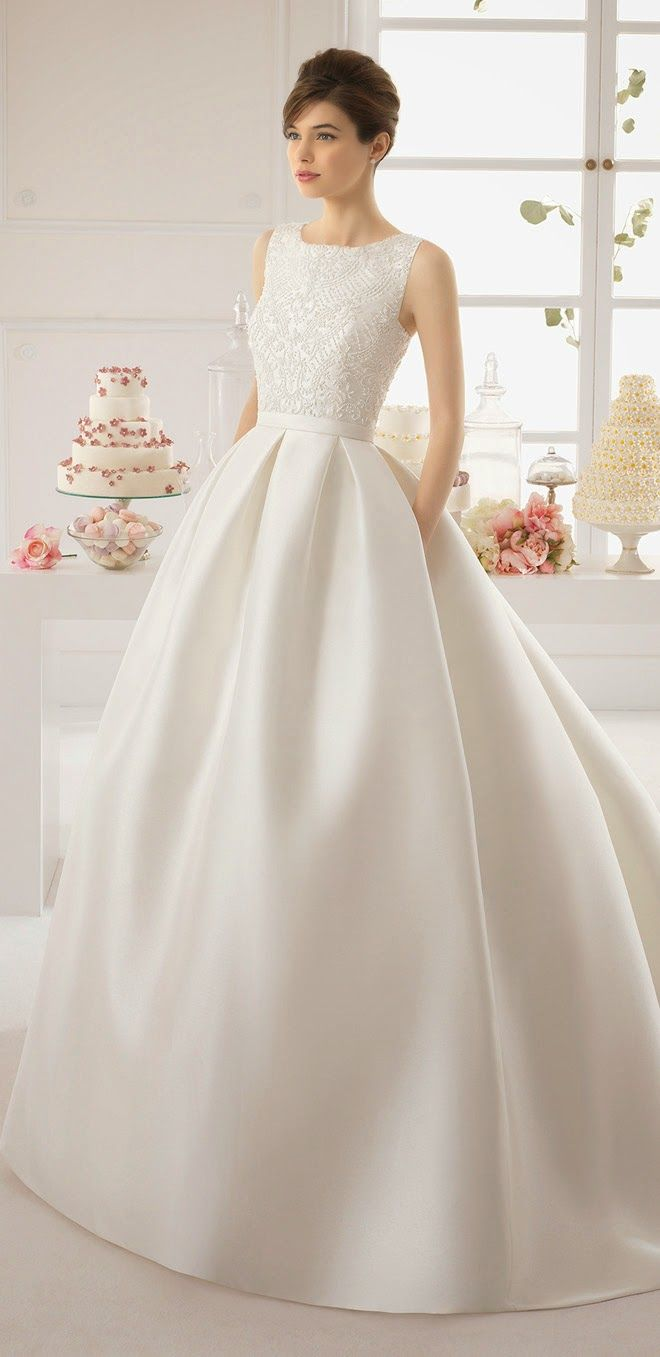classic wedding dress classy wedding dresses Aire Barcelona Bridal Collection Simple Wedding GownsClassic