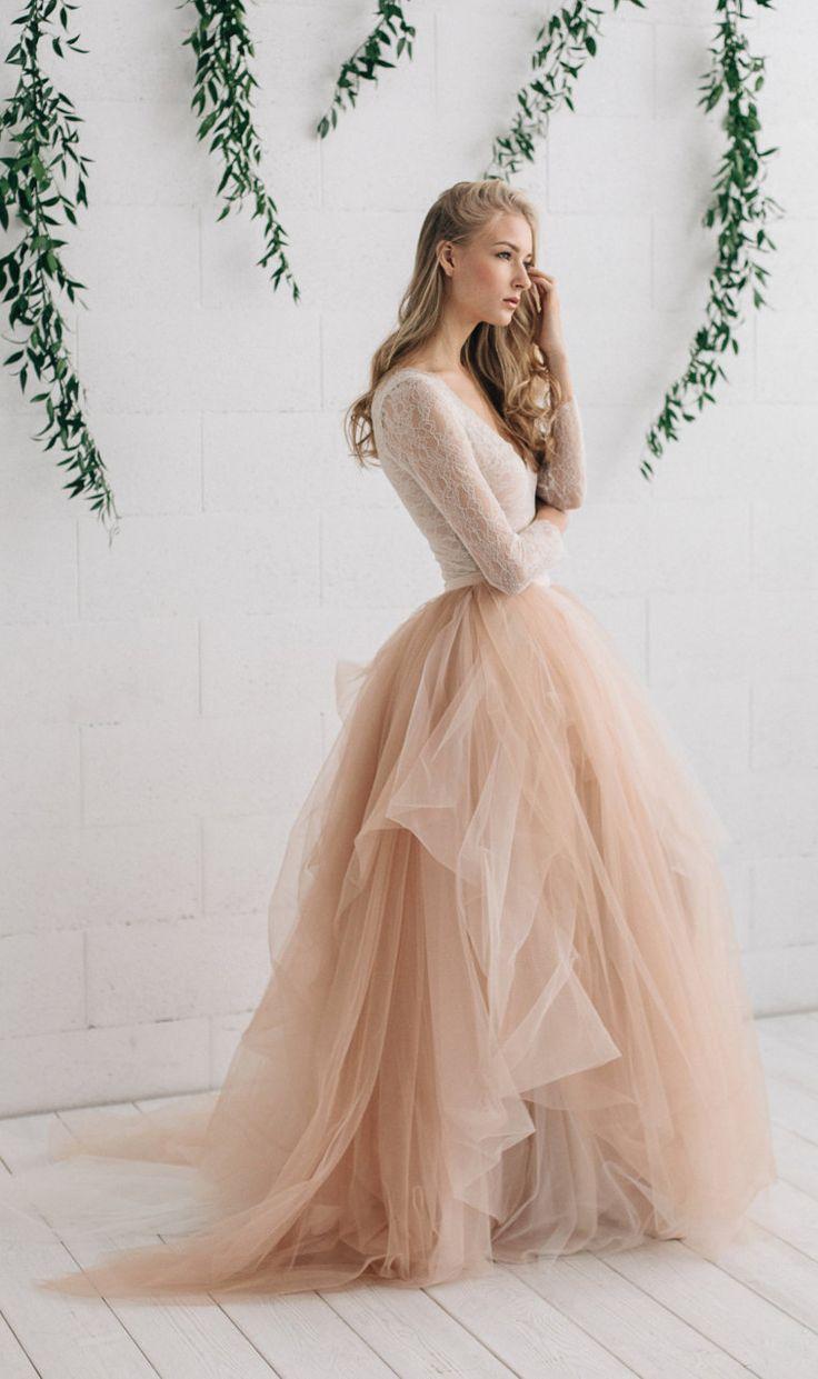 blush pink wedding dress blush pink wedding dresses blush tulle wedding dress