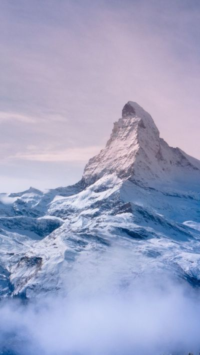 Nature iPhone 6 Plus Wallpapers - Everest Mountain Pink Tones Sky iPhone 6 Plus HD Wallpaper # ...