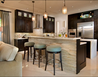 42 best images about KITCHEN - Island/Bar Wall Ideas on Pinterest